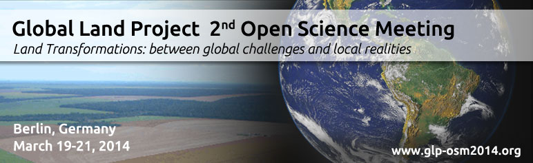 Global Land Project - Open Science Meeting