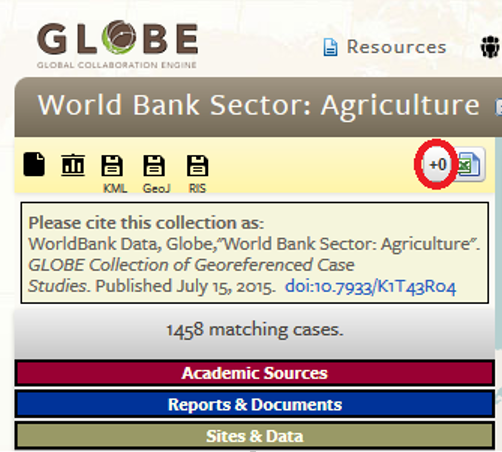 The top-right icon allows users to add global variables